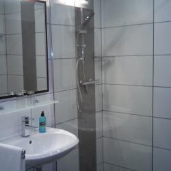Badezimmer Hotel Brehm